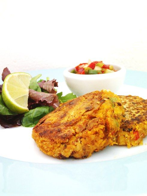 Creole Chickpea Fritters | Gluten free recipe's | Pinterest
