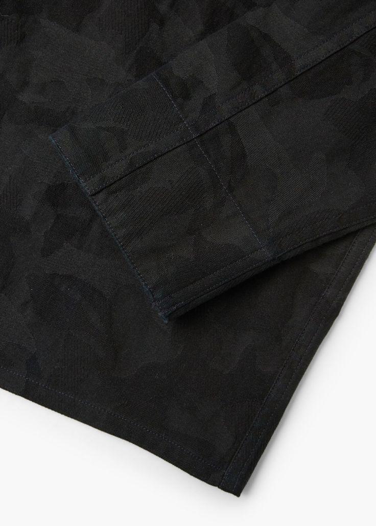 Camisa regular-fit algodón camuflaje   MANGO MAN