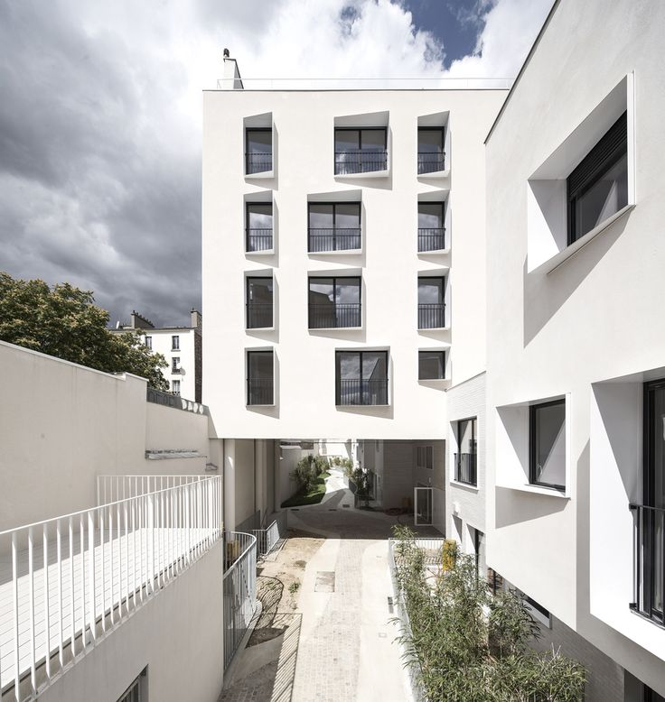 Gallery of 33 New and Rehabilitated Housing Units / Antonini + Darmon…