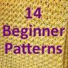 """How Do I Crochet?"" 14 Free Beginner Crochet Afghan Patterns to Get You Started | AllFreeCrochetAfghanPatterns.com"