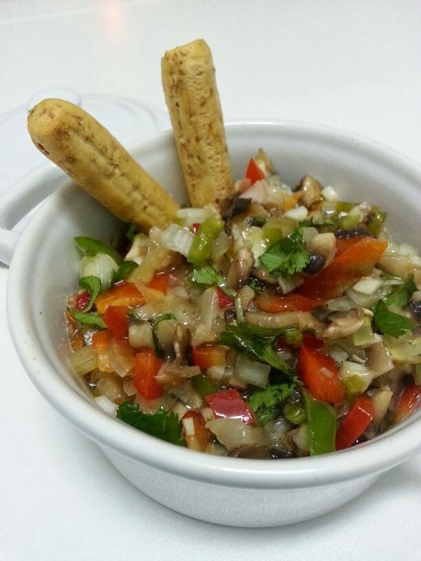 Ceviche de Champiñones {El Asalta Blogs} | Gastrocenicienta
