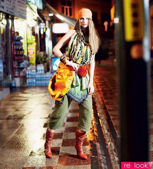 Стиль хиппи - одежда и аксессуары