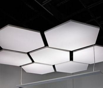Akustik Tavan Panelleri #akustikpanel #fabricpanels