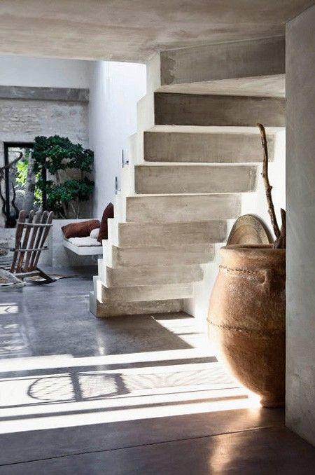 Escaliers en béton - Concrete stairs …