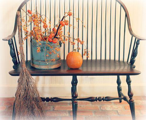 Autumn around the house