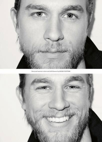 Charlie Hunnam // Jax Teller // Sons of Anarchy THAT SMILE!!!!!