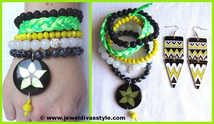JDS - FLEETING MOMENTS BRACELET STACK - http://jeweldivasstyle.com/designer-inspired-brand-new-bracelet-stacks/
