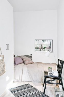 white style hipster vintage bedroom design sleep Home boho indie bed architecture bohemian Interior Interior Design Living Room house cozy sleeping interiors decor decoration living lifestyle minimalism minimal bedding deco blanket all white