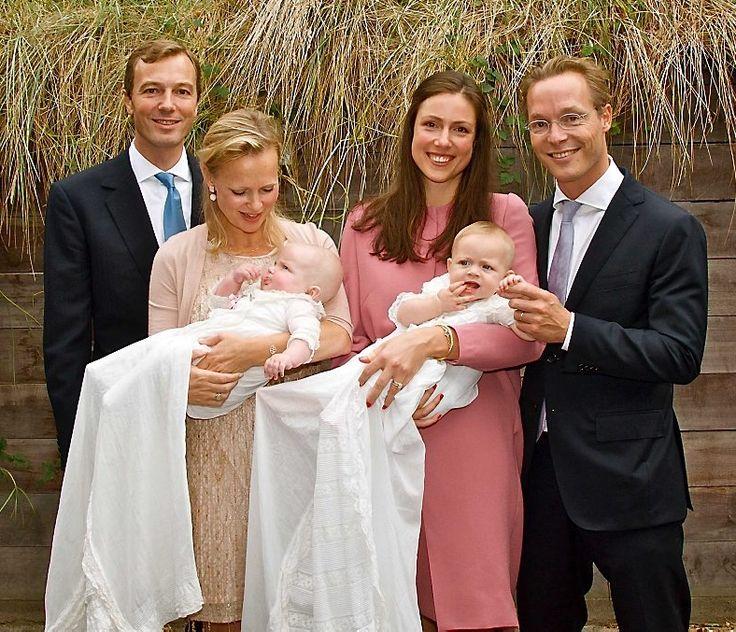 dubbele doop dochter Jaime en Carolina de Bourbon de Parme, 5 oktober 2014