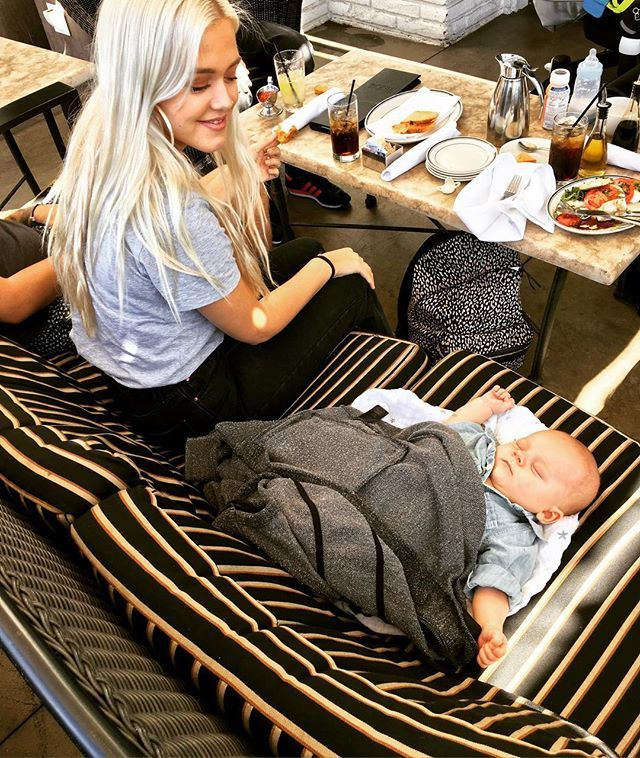 """Pin for Later: This Picture of Louis Tomlinson and His """"Lad"""" Will Melt Your Heart Onto the Floor"""