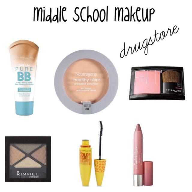 Middle school makeup- drug store