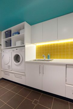 Californian Bungalow Makeover contemporary laundry room