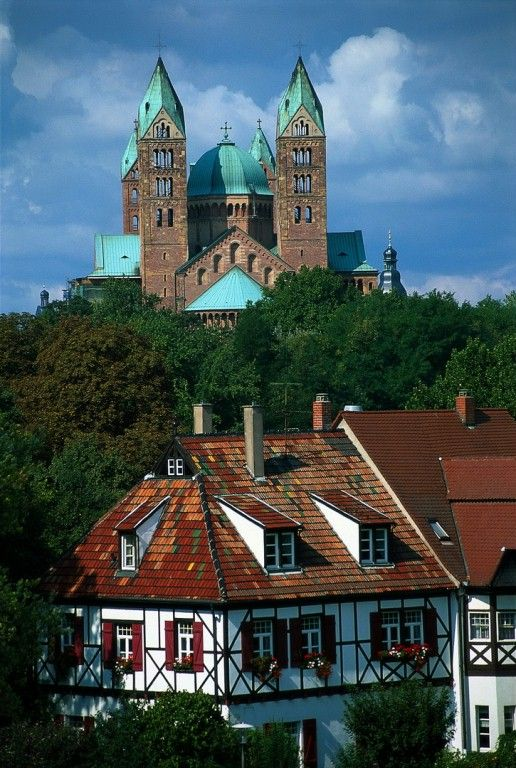 Speyer Cathedral, the largest Romanesque cathedral in the world.