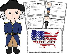 United States Presidents book for kids learning about presidents