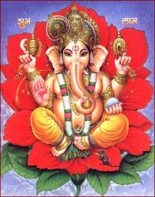 temple hindou Lord Ganesh