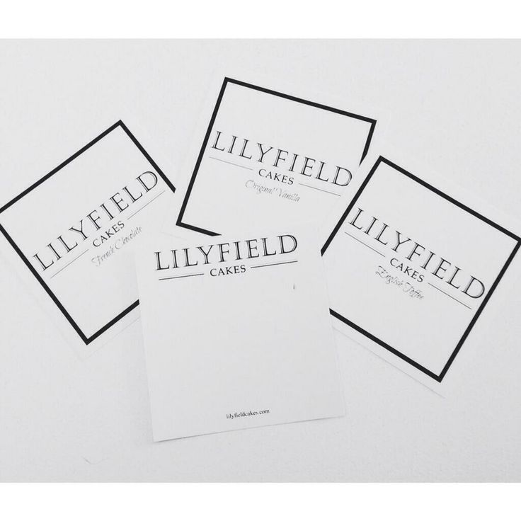 Lilyfield Stationary #lilyfieldcakes #stationary #logo #stationary #cake #gifts #uniquegiftideas #giftidea #winnipeg #