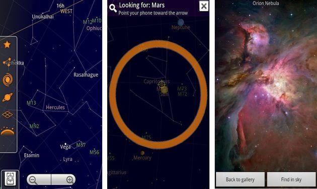 Sky Map, explorando el cielo con la cámara de tu Android