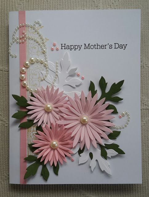 Contagiously Crafty. (Pin#1: Flowers: 3D/ Dies.... Pin+: Mother's Day).