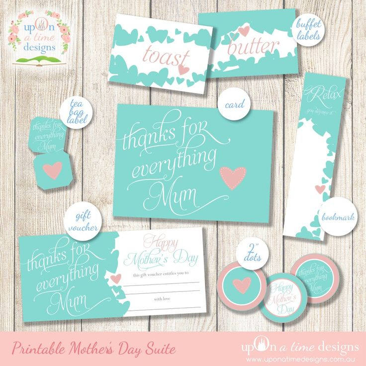 Mother's Day Printables -