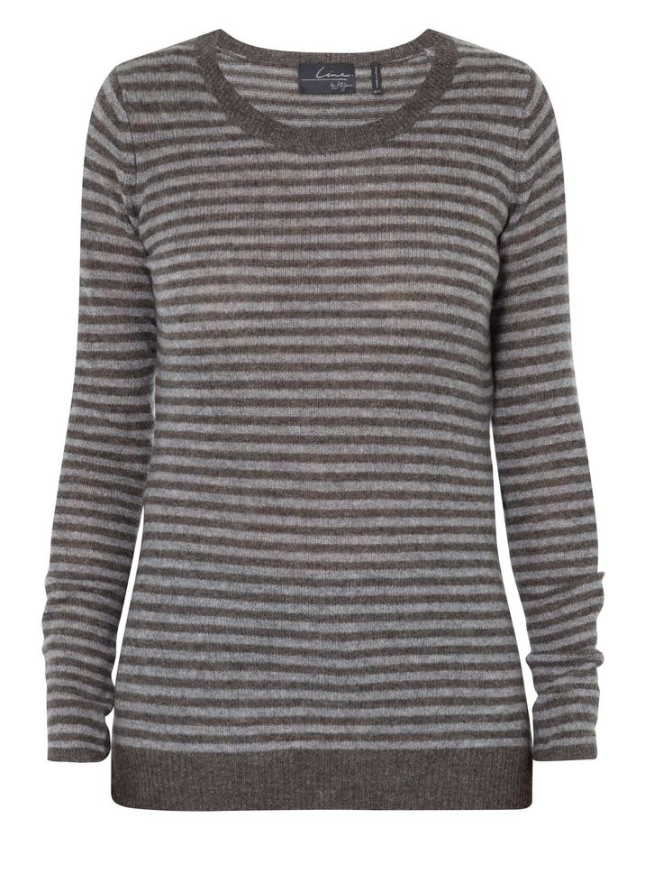 Line - Hoxton Striped Cashmere Sweater
