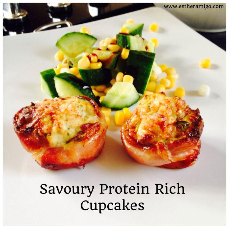 Turkey protein cupcakes! recipe www.estheramigo.com perfect post workout nutrition