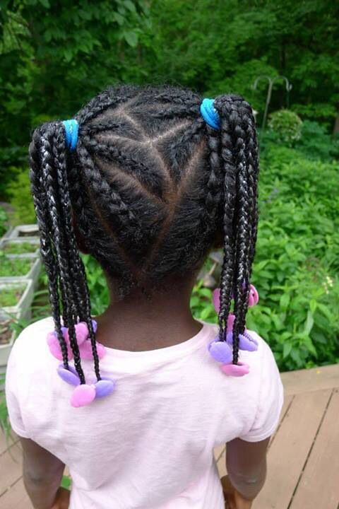 1172 Best Images About Little Black Girls Hair On