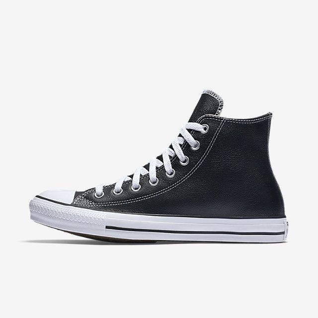 Converse Chuck Taylor All Star Leather Unisex High Top Shoe. Nike.com