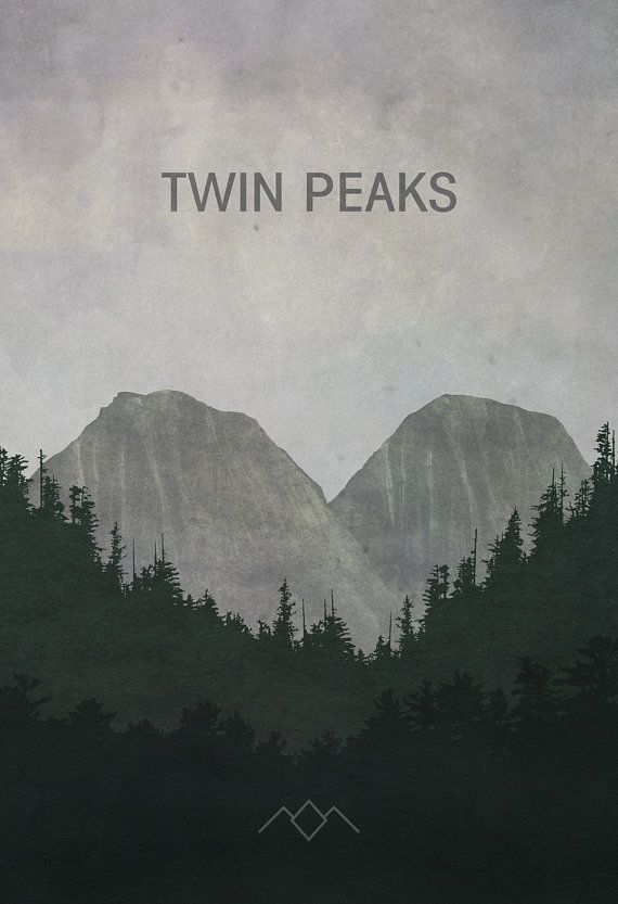 Twin Peaks Poster (8x10, 11x17, or 13x19) TV