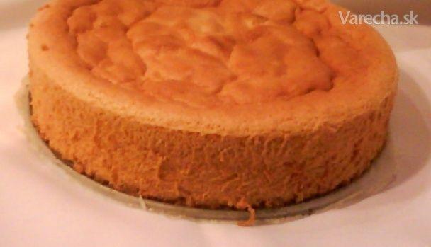 Korpus na tortu bez oddeľovania vajec (fotorecept)