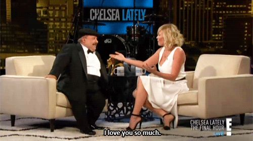 """Then, there was a farewell to Chelsea's """"assistant,"""" Chuy. 