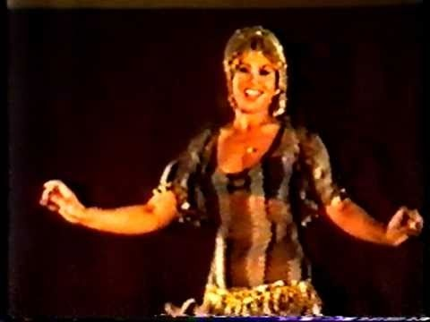 Fifi Abdou of Cairo, dancing baladi and making it look very easy indeed.  pinterest.com/...