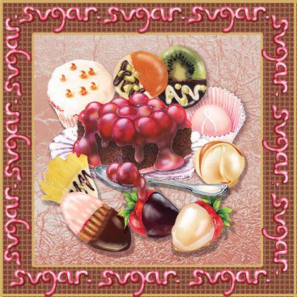 """""""Chocolate VI"""" by Rosiland Solomon"""