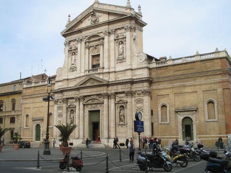 church of santa susanna in rome