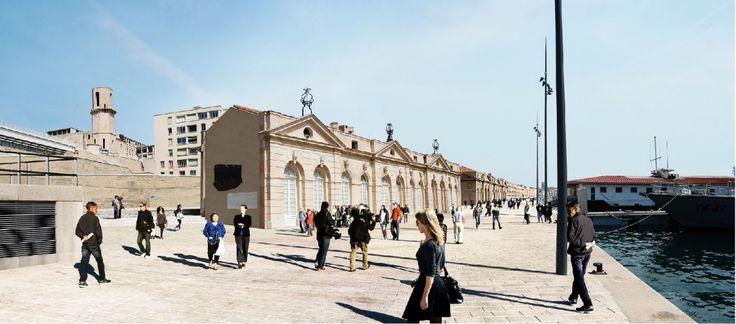 Le réaménagement du Vieux-Port de Marseille entame sa 2ème phase