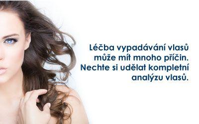 komplexní analýza vlasů, vlasové pokožky a vlasových stvolů v Medical Institut v plzni.