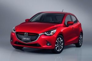 The redesigned 2016 Mazda 2 subcompact hatchback debuted on Wednesday, with U.S. deliveries expected in mid-2015.