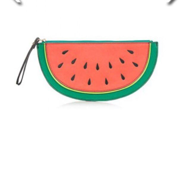 Newlook watermelon clutch