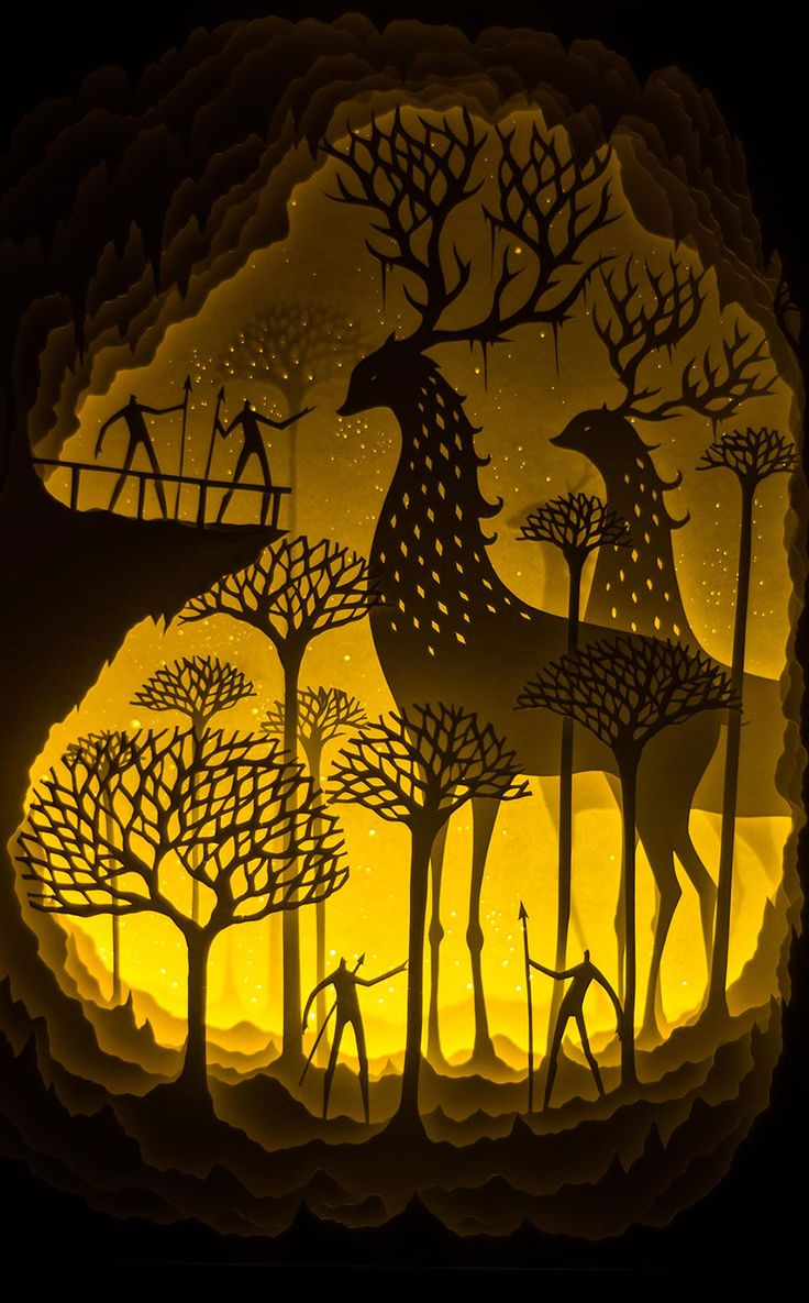 More from Hari & Deepti's Line of Backlit Paper Sculptures