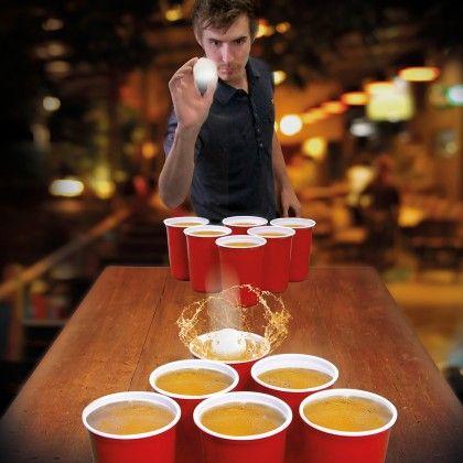 Jeu de Beer Pong Géant sur Kas Design