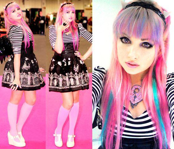 Rochelle Goyle - Monster High Cosplay - Roxie Sweetheart