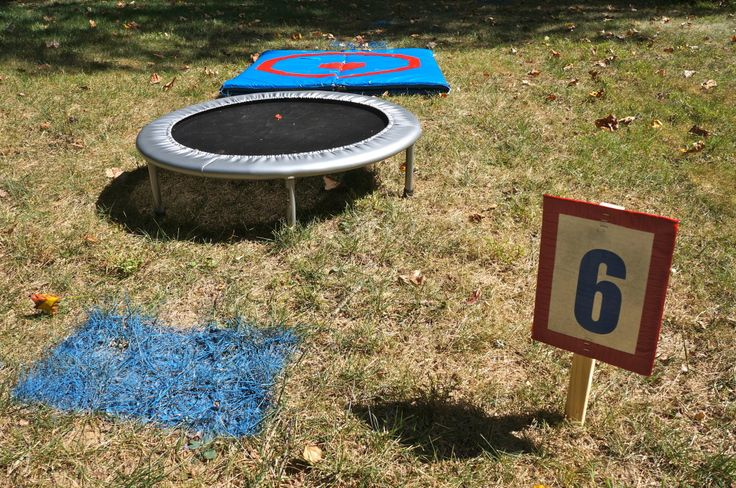 Project Nursery - One of the 8 obstacles