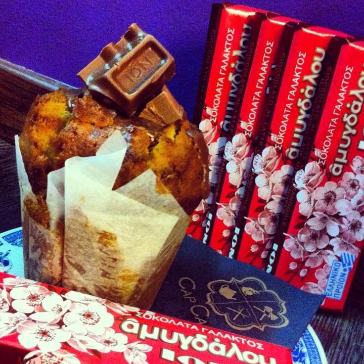 ION Almond Milk Chocolate Muffin