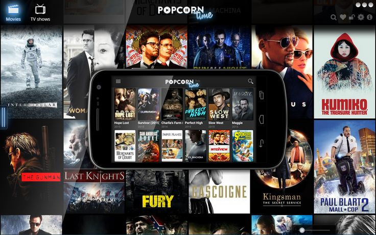 Popcorn Time UI