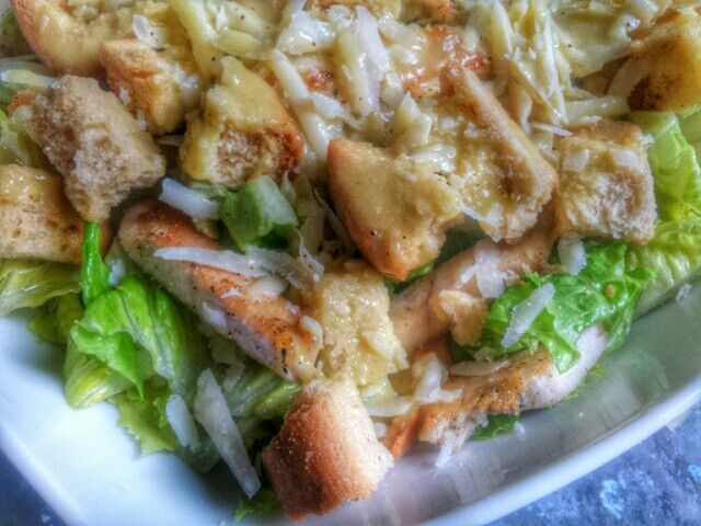 Salad Caesar home made