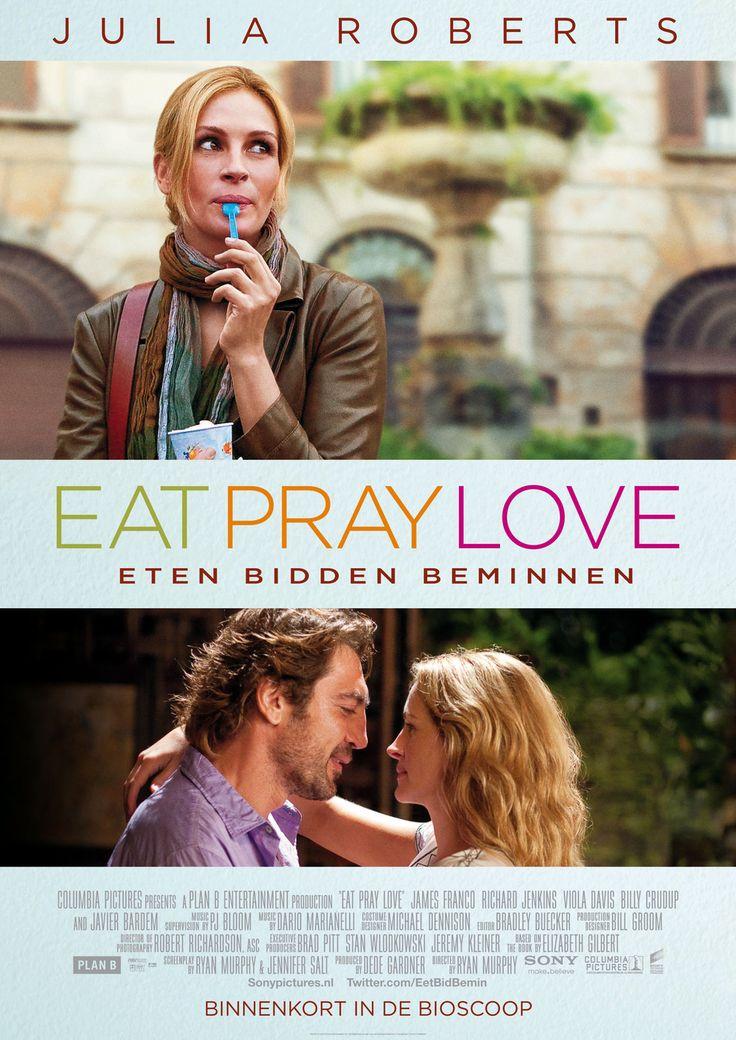Eat Pray Love. Ik vond dit een mooie film , ook door de omgeving waar het afspeelde. deels in Rome, daar herkende ik veel van.