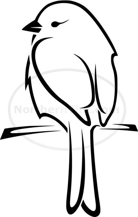 Simple Bird Line Art : Best birds drawing how ideas images on pinterest