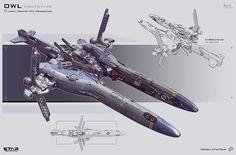 visto en: http://conceptships.blogspot.com.es/2012/03/spaceship-concepts-by-karanak.html