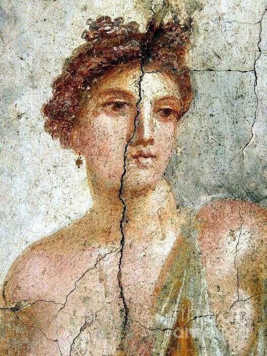 Pompeii fresco.