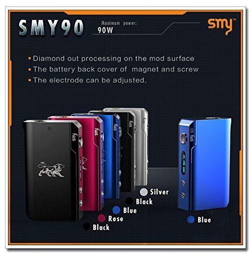 Xingchen Smy 90w Box Mod 5-90w Mechanical Mod Smy90 Vape Mod 510 Thread Fit 18650 Battery Vs Istick 50w Cloupor T8 Ace 50 Mod (Black) Xingchen http://www.amazon.com/dp/B0112W0J6E/ref=cm_sw_r_pi_dp_.h5Vvb0R57ATA