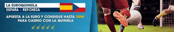 el forero jrvm y todos los bonos de deportes: william hill euro quiniela España vs Rep. Checa 20...